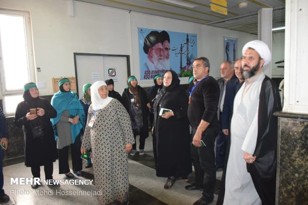 Officials in Gilan prov. welcomes Arbaeen's foreign pilgrims