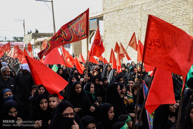 """انطلاق أكبر مسيرات ايران في الأربعين الحسيني من """"ملاشية"""" الأهواز"""