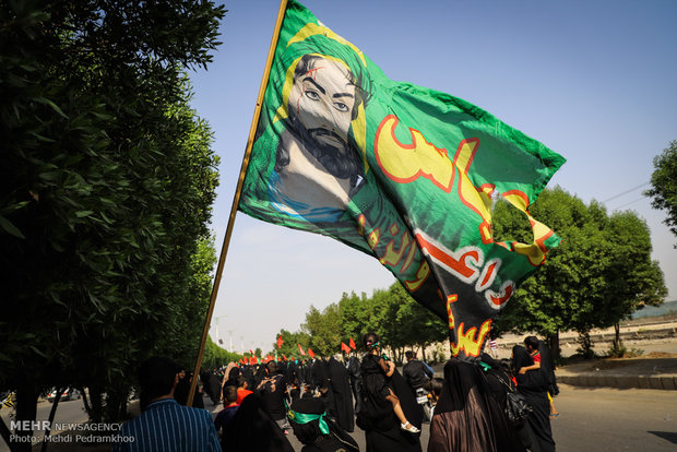 Massive Arbaeen procession in Ahvaz