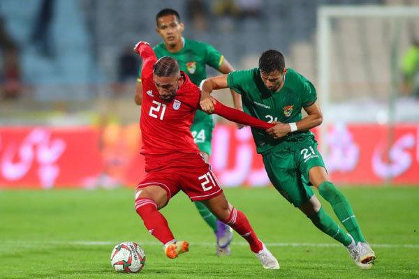 پیروزی تیم ملی فوتبال ایران برابر بولیوی/سوژه بازی روی سکوها بود!