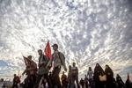 موکب «طلاب المقاومة الحسینة» با حضور دانشجویان جهان اسلام