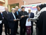 مدرسه ۶ کلاسه برکت شهید لنگریزاده افتتاح شد