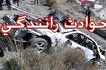 واژگونی خودرو پژو در محور لوشان- قزوین/ ۵ نفر مصدوم شدند