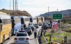 ترافیک در محورهای استان ایلام به صورت روان و پرحجم است