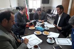 امضای تفاهم نامه همکاری اداره محیط زیست بوئین زهرا وشورای اسلامی