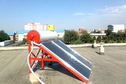 ۱۵۰ دستگاه آبگرم کن خورشیدی در روستاهای استان سمنان توزیع میشود