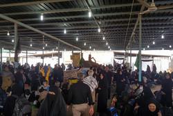 تردد ۱۲۰ هزار زائر حسینی  از مرز شلمچه