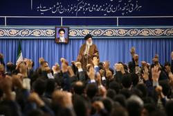 رہبر معظم انقلاب اسلامی سے ممتاز علمی شخصیات کی ملاقات