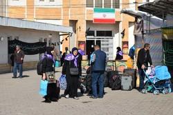 ورود ۲۹۵۷ زائر خارجی اربعین حسینی به آستارا