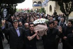 مرحوم صادق عبداللہی کی تشییع جنازہ