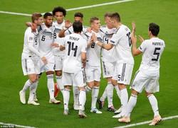 دیدار تیم های فوتبال ملی فرانسه و آلمان
