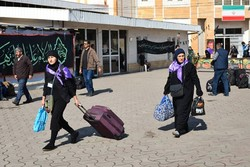 ۹۳۳۲ زائر خارجی اربعین وارد آستارا شده اند