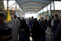 وسیله نقل و انتقال زوار در شلمچه عراق فراهم است