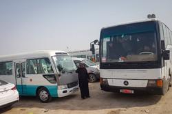استقرار تدریجی ۹۰ دستگاه اتوبوس خط واحد در شلمچه برای اربعین