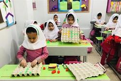 سقف کانکسی۷۰ مدرسه عشایری خراسان جنوبی/ امکانات آموزشی مطلوب نیست