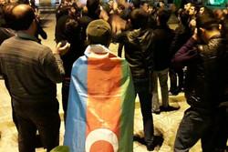 عزاداری زائران جمهوری آذربایجان در آستارا