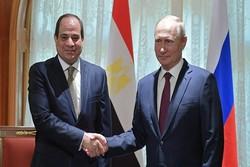 پوتین: با مصر درخصوص سوریه به توافقاتی رسیدیم که اجرایی میشود