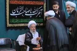 عزاداری شهادت امام حسن مجتبی(ع) در دفاتر مراجع تقلید قم