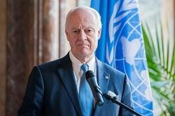 دي ميستورا: دمشق ترفض مشاركة الأمم المتحدة في اختيار قائمة للجنة الدستورية