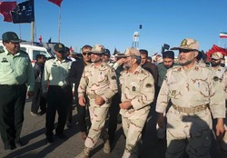 بازدید فرمانده مرزبانی ناجا از روند خدمت رسانی به زائران پاکستانی