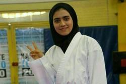 İranlı kadın karateciden Arjantin'de büyük başarı