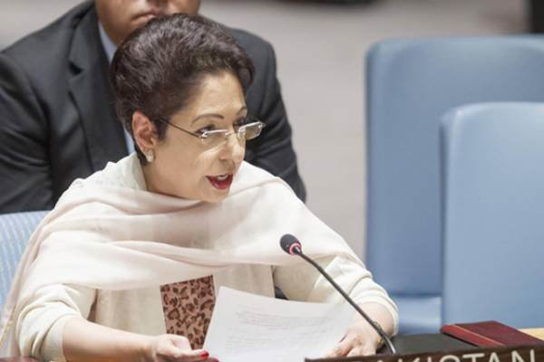 پاکستانی مندوب ملیحہ لودھی کی جنرل اسمبلی کی صدر سے ملاقات