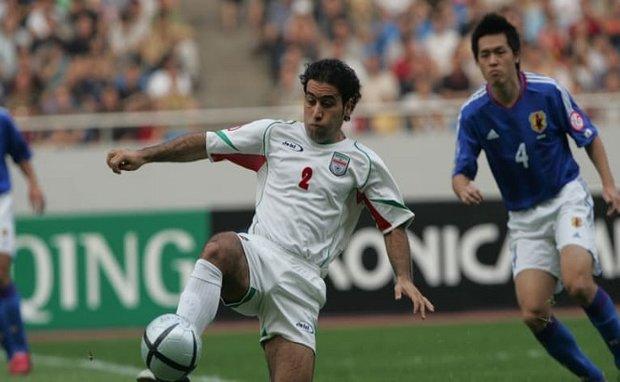 """اختيار الايراني """"مهدوي كيا"""" افضل مدافع في تاريخ نهائيات كأس آسيا"""