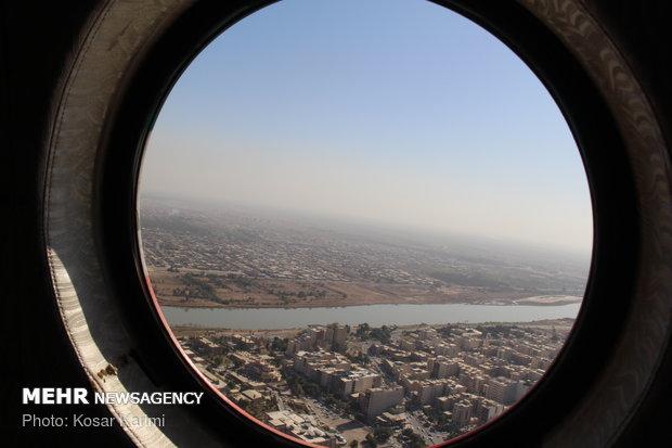 Havadan çekilmiş Ahvaz görüntüleri