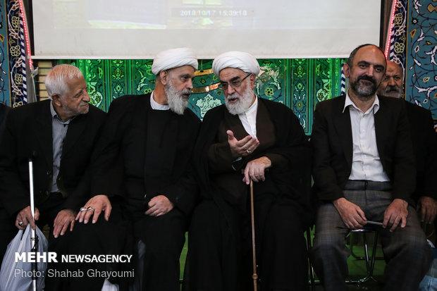 مراسم ختم حجت الاسلام ابوالقاسم شجاعی در حسینیه فاطمیون