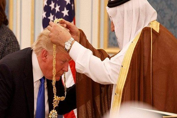 امریکی اخبار کی صدر ٹرمپ کے سعودی عرب کی حمایت میں بیان پر شدید تنقید