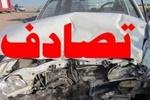 ۴ مجروح در سانحه رانندگی سه راه یساقی گرگان