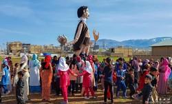 """اجرای ویژه برنامه """"شادپیمایی عروسکی"""" در کرمانشاه"""