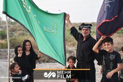 پیادهروی ۳۵۰ کیلومتری شیعیان سوقالشیخ