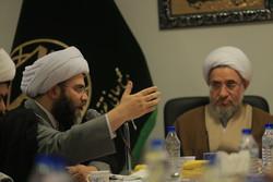 قم میں مراجع عظام سے سازمان تبلیغات اسلامی کے سربراہ کی ملاقات