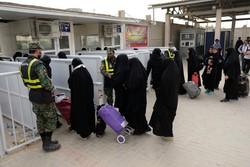 روند تردد زوار در پایانه مرزی مهران