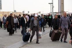 بیش از ۱۲۰ هزار زائر تا کنون از پایانه های مرزی خارج شده اند
