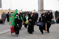 تردد روان زائران از مهران برای خروج از کشور