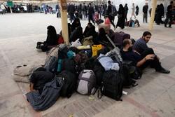 برخی از مشکلات زائران در پایانه مرزی مهران