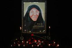 """مراسم بزرگداشت مادر """"شهیدان مغنیه"""" در تهران"""