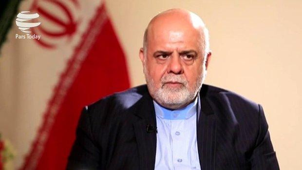 وزير الثقافة العراقي يستقبل السفير الايراني في بغداد