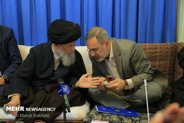 دیدار سیدمحمد بطحایی وزیر آموزش و پرورش با مراجع تقلید در قم