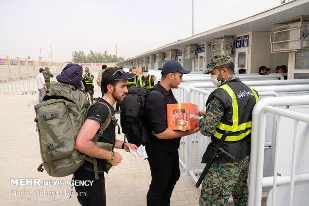 ۵۰ هزار نفر امروز از مرز مهران خارج شدند