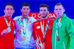 اولین مدال طلای المپیکی کاراته بدست آمد/نوید محمدی تاریخ ساز شد