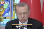 وقتی اردوغان در کنفرانس خبری خوابش میبرد!