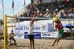 نتایج نخستین روز رقابت های والیبال ساحلی قهرمانی کشور مشخص شد