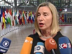 EU's Mogherini says promised SPV to Iran to be in place in coming weeks