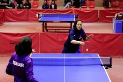 رقابتهای تنیس روی میز خراسان شمالی برگزار شد