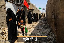 گزارش خبرنگار صدا و سیما از حال و هوای اربعین در عراق