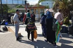 ۴۰۰۰ زائر خارجی اربعین حسینی وارد مرز آستارا شدند