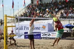 برگزاری دومین دوره مسابقات والیبال ساحلی کشور به میزبانی کلاچای